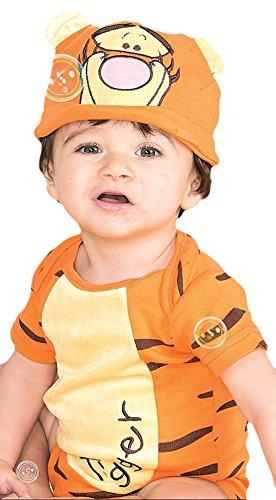 - Baby Karneval Kostüm Tigger Winnie Puuh , Mehrfarbig, Größe 50-62, 1-3 Monate (Niedlich, Einfach, Gruppe Halloween-kostüme)