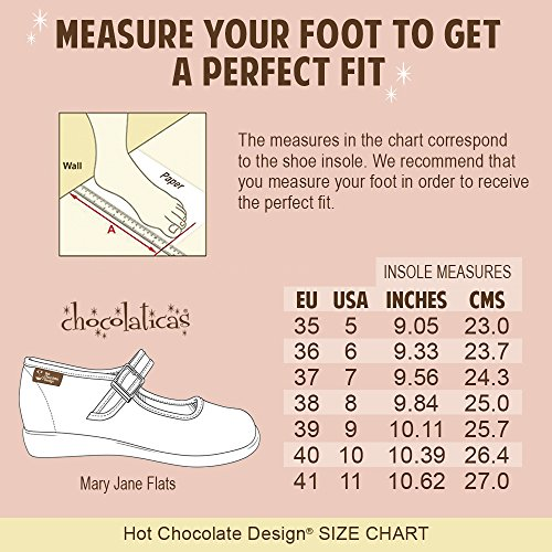 Hot Chocolate Design Chocolaticas Honey Damen Mary Jane Halbschuhe Mehrfarbig