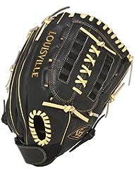 Louisville Slugger DYN1300 Right Hand - Guantes de béisbol, color negro, talla Size 13 Inch