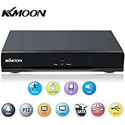 KKmoon DVR 16 Kanal 960H D1 CCTV Netzwerk Digital Video Recorder H.264 HDMI DVR Echtzeit Überwachung Haussicherheitssystem