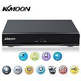 KKmoon 16 Canales DVR 960H D1 Grabador de Video (CCTV Network, H.264, P2P, HDMI, Grabación...