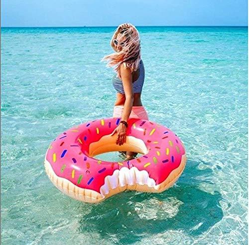 SKY TEARS Flotador Donut Piscina para Adultos y Niños Hinchables Juguete
