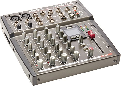 Phonic PHONIC Mixer AM 220 P 6Can.Eq.Usb Player