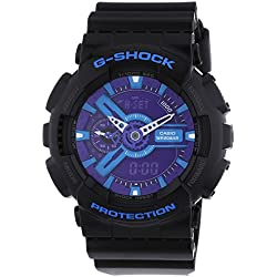 Casio Herren-Armbanduhr XL G-Shock Style Series Chronograph Quarz Resin GA-110HC-1AER