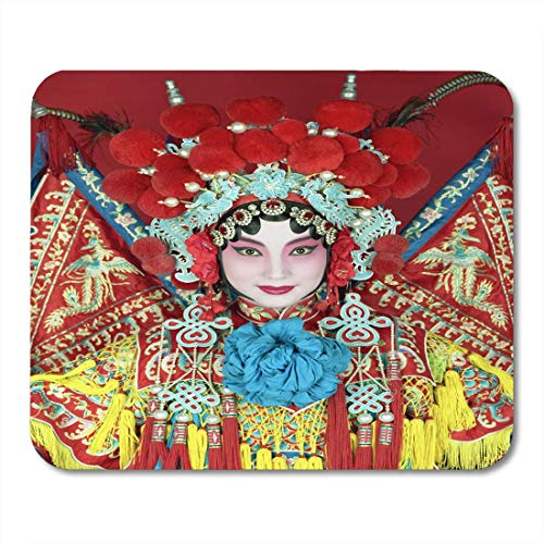 Luancrop Mauspads Kostüm China Traditionelle Peking-Oper Schauspielerin Chinesische Kultur Mauspad für Notebooks, Desktop-Computer Mauspads, - China Kultur Kostüm