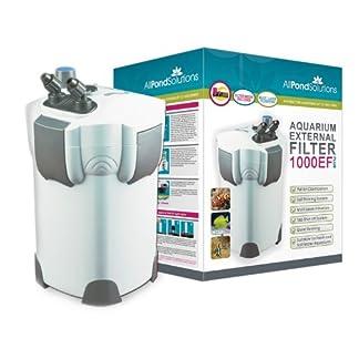 All Pond Solutions Aquarium External Fish Tank Filter 1000 Litre/ Hour Plus 9W UV Light Free Filter Media 51iift6ySNL