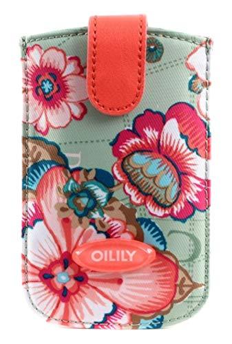 Oilily iPhone 3,4 & 4S Hülle Pull Case Fantasy Flora Pistachio