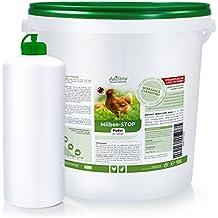 AniForte Milben Stop Puder 10 Liter + Puderflasche-gegen rote Vogelmilben, Schädlinge - ID: OLP C 12