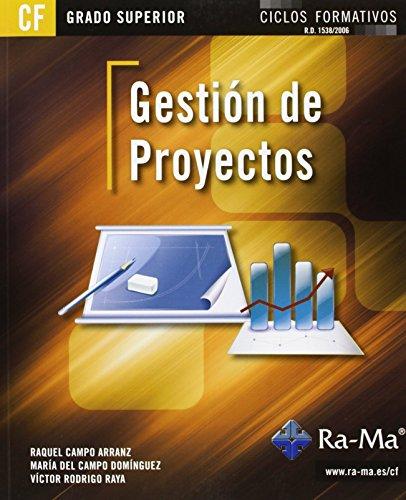 Gestión de Proyectos (GRADO SUPERIOR) de Víctor Rodrigo Raya (27 may 2013) Tapa blanda