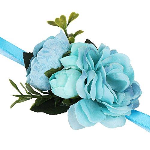 UINGKID Damen-Armband Charm Kreative Stilvolle Romantische Simulation Rose Bracelet Flower Wedding ()