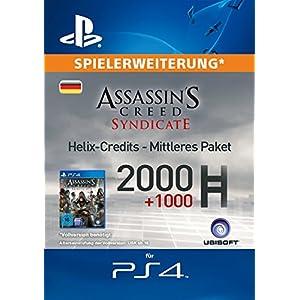 Assassin's Creed Syndicate – Mittleres Helix Credit Paket [Spielerweiterung] [PS4 PSN Code – deutsches Konto]