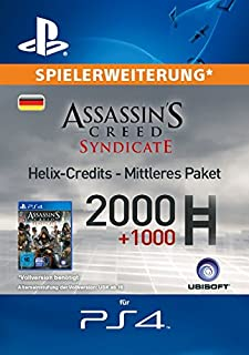 Assassin's Creed Syndicate - Mittleres Helix Credit Paket [Spielerweiterung] [PS4 PSN Code - deutsches Konto] (B017A6UIQC) | Amazon price tracker / tracking, Amazon price history charts, Amazon price watches, Amazon price drop alerts