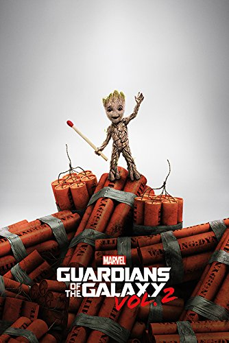 Close Up Guardians of The Galaxy Vol. 2 Groot Dynamite - Guardians Galaxy Puppen The Of