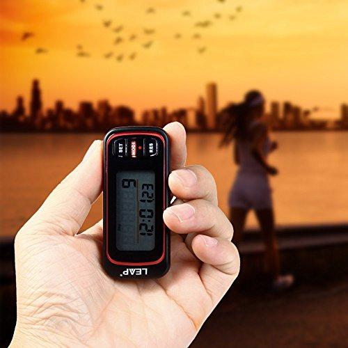 boldion £ ¨ TM £ © 2016Leap pc311de haute qualité multi-usages Capteur 3D podomètre montre chronomètre électronique pour Sport Fitness