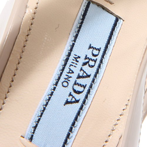 8183I decollete donna PRADA scarpe shoes women Cipria