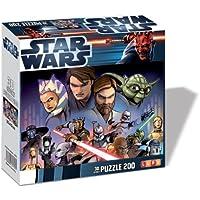 Lupu 2070 - Clone Wars Jedi (effetto 3D) - Puzzle 200 pezzi
