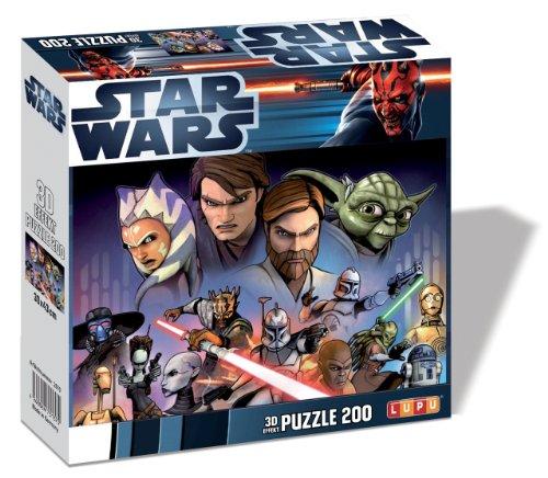 Lupu - Puzzle 3D Star Wars 200 Piezas 2.75x0.6 cm