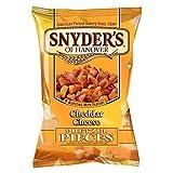 Snyder's Trozos De Queso Cheddar Pretzel 125g (Paquete de 6)