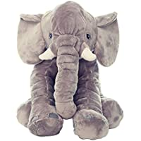 CHCUAN Almohada de Elefante (Juguetes para bebés) / Almohada de Felpa rellena de Elefante Almohada para Dormir Almohada de Juguete para niños