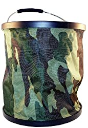 Presto Buckets, 4-Gallon, Camouflage