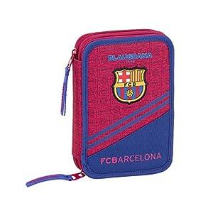 FC Barcelona Corporativa Oficial Estuche 34 Útiles Incluidos 135x45x205mm