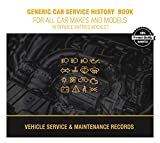 Generic Car Service History Maintenance Record Log Book for All Car Makes Models (1)