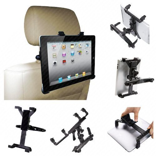 iChoose Tablet-Halterung fürs Auto, 8-14Zoll (ca. 20-35,6cm), 360° drehbar