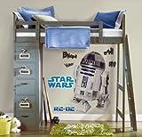 RoomMates Joy Toy 15920 Wandtattoo groß Star Wars R2-D2 2 Blätter mit 9 Elementenn