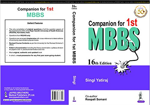 Companion for 1st MBBS