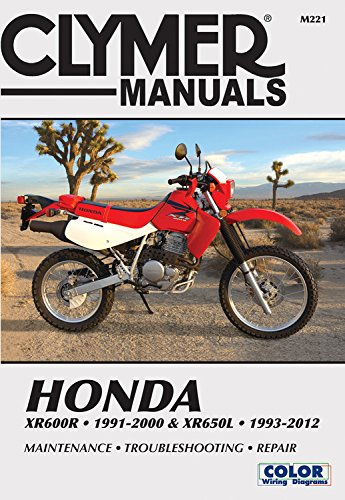 Honda XR600R 91-00 & XR650L 93-12 (Clymer Manuals) -