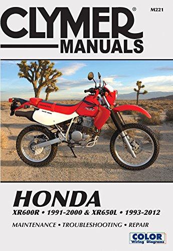 9100 Serie (Honda XR600R 91-00 & XR650L 93-12 (Clymer Manuals))
