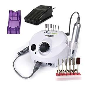 CoastaCloud Ponceuse à Ongles Electrique Professionnelle Manicure Pedicure à Domicile ou en Salon, avec les embouts ponçages