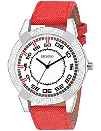 Frosino FRAC061815 Analog Frosting White dial Watch for Men