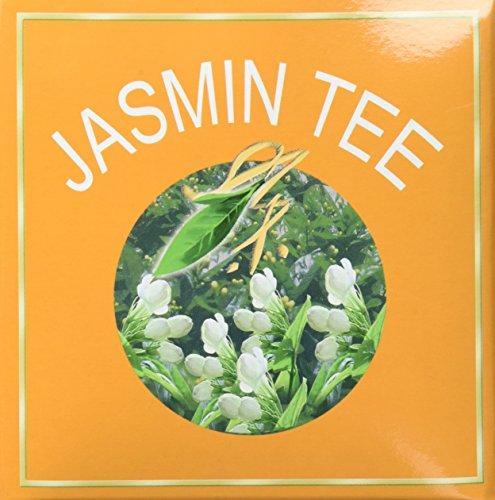 Greeting Pine Jasmin Tee, mit Blüten, 1er Pack (1 x 500 g Packung) -
