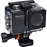 1080p WiFi enabled Compact HD Action Cam Camcorder Camera for Extreme Sports - Waterproof Case Included up to 3 Metres Vivitar DVR794HD 12 Megapixels (Black)