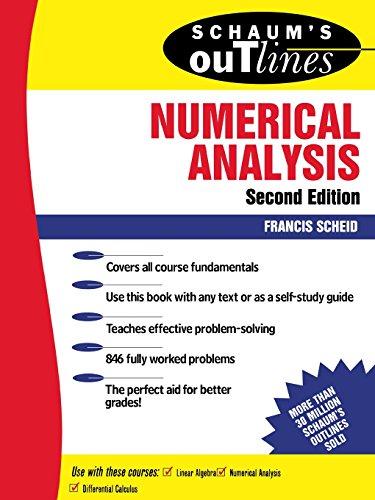 Schaum's Outline of Numerical Analysis (Schaum's Outline Series)