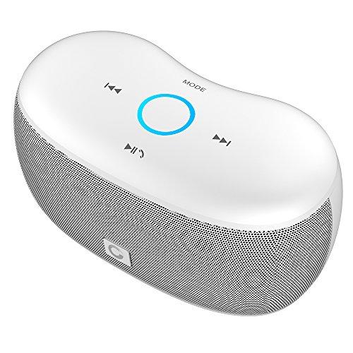 Altoparlanti Portatili Wireless Doss Soundbox XS Casse Bluetooth 4.0 Stereo Mini Forte Bassi Profondi Altoparlante per iPhone e Smartphone Android e Tablet PC Adatto a Jogging, Bicicletta, Yoga, ecc