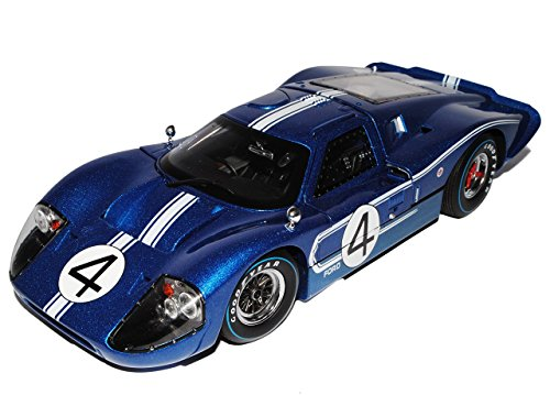 ford-gt40-mk-iv-1967-blau-nr-4-24h-lemans-ruby-denny-hulme-1-18-shelby-collectibles-modell-auto