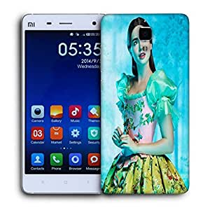 Snoogg Shy Chic Designer Protective Back Case Cover For Xiaomi Mi 4