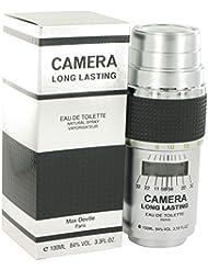 CAMERA LONG LASTING by Max Deville Eau De Toilette Spray 3.4 oz -100% Authentic by Max Deville