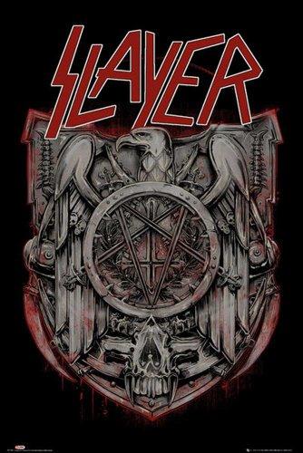 Slayer Poster Eagle + articolo aggiuntivo