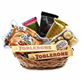 Thank You Gift Chocolate Basket