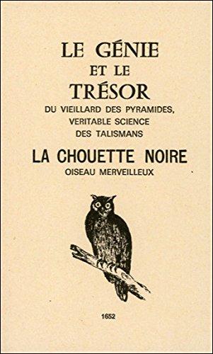 Génie et trésor - Chouette noire (Perthuis)