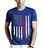 Best American Flags - Adro Men's USA Flag Printed Cotton T-Shirt Rnrusa Review