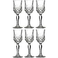 Rcr Set 6 Calici Opera Liquore 6 Cl Crystal Glass