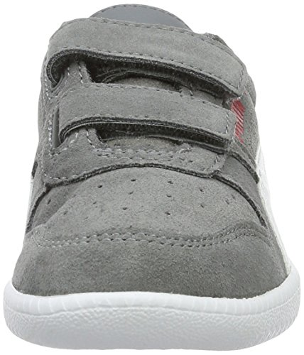 Puma Icra Trainer Sd V Ps, Sneakers Basses Mixte Enfant Gris (Steel Gray-puma White 14)