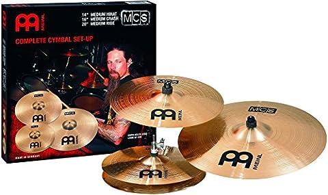 Meinl MCS Set de cymbales avec charleston (Hi-Hat) 14