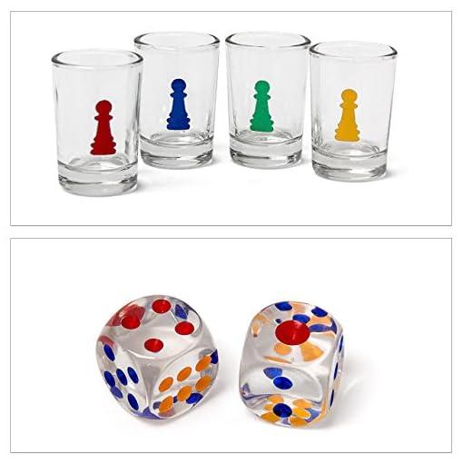 3-teiliges-Trinkspiel-Set-XXL-fr-Erwachsene-Drinking-Ludo-Trink-Roulette-Beer-Pong-Becher-rot-Partyspiel-Saufspiel-ab-18