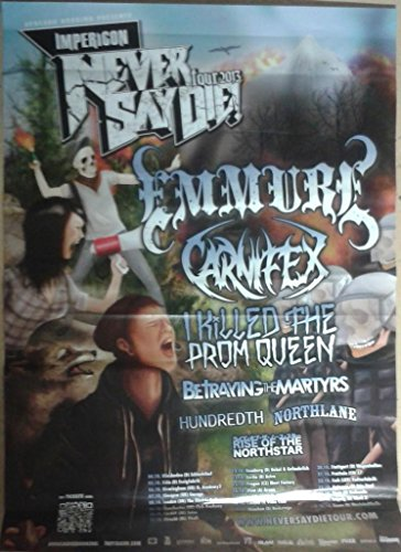 emmure/carnifex - 60 x 84 cm Mostra/Poster
