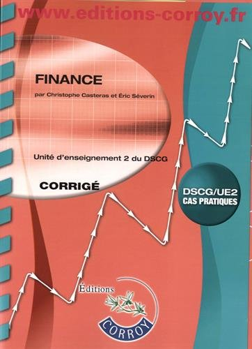 Finance Corrig: UE 2 du DSCG